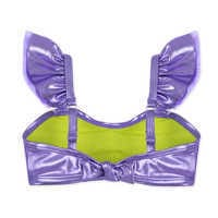 Image of Ariel Deluxe Swimsuit Set for Girls # 5