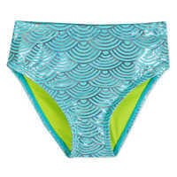 Image of Ariel Deluxe Swimsuit Set for Girls # 6