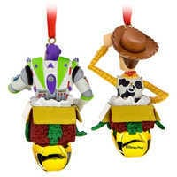 Image of Woody and Buzz Lightyear Bell Ornament Set # 2