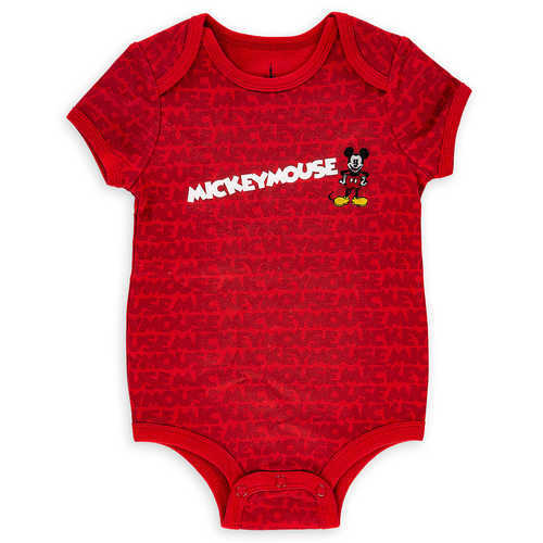 Disney Mickey Mouse Bodysuit for Baby - Red