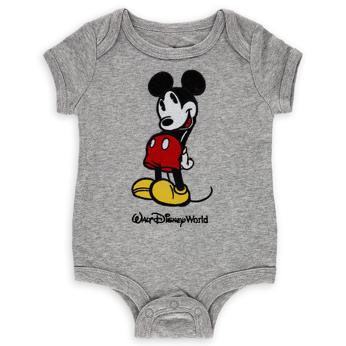 51bdf4c6c Product Image of Mickey Mouse Bodysuit for Baby - Walt Disney World - Gray  # 1