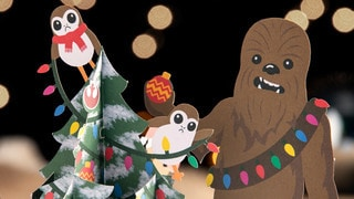 The Science Behind Lovepop's Star Wars Holiday Cards