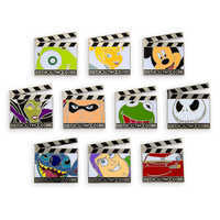 Image of Disney's Hollywood Studios Clapper Board Mystery Pin Pack # 1