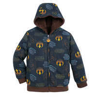 Image of Chewbacca Reversible Fleece Hoodie for Kids # 3