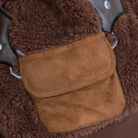 Image of Chewbacca Reversible Fleece Hoodie for Kids # 7