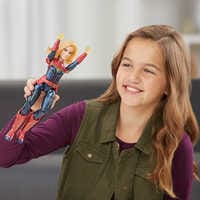 Image of Marvel's Captain Marvel Photon Power FX Light-Up Action Figure by Hasbro # 3