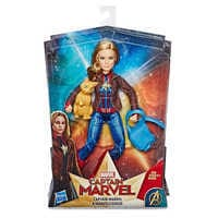 Image of Marvel's Captain Marvel and Marvel's Goose Figure Set by Hasbro # 3