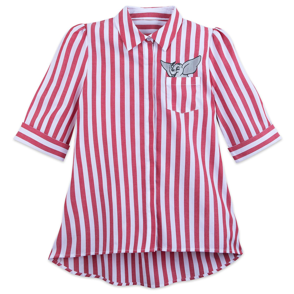 40bcbdd5070f11 Product Image of Dumbo Striped Button-Up Shirt for Women - Live Action Film  #