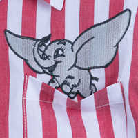 Image of Dumbo Striped Button-Up Shirt for Women - Live Action Film # 3