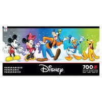 Image of Mickey Mouse and Friends Panoramic Jigsaw Puzzle # 1