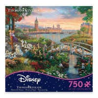 Image of 101 Dalmatians Jigsaw Puzzle by Thomas Kinkade # 1