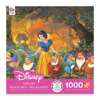 Image of Snow White ''Among Friends'' by Michael Humphries Jigsaw Puzzle # 1