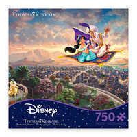 Image of Aladdin Jigsaw Puzzle by Thomas Kinkade # 1