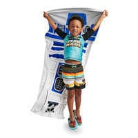 Image of R2-D2 Beach Towel - Personalizable # 2