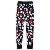 Image of Mickey and Minnie Mouse Jogger Pants for Women # 1