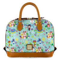 Image of Disney it's a small world Satchel by Dooney & Bourke # 1