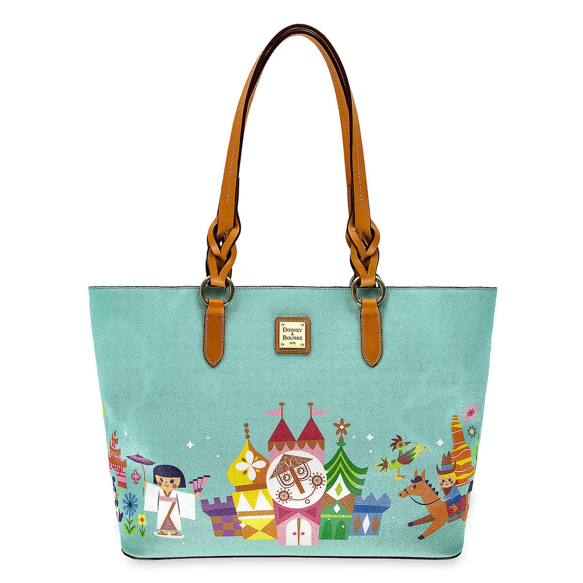 b1429c9404f003 Product Image of Disney it's a small world Tote by Dooney & Bourke # 1