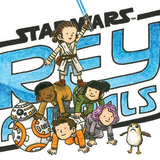 Illustrator Jeffrey Brown on Reimagining Rey and Pals — First Look