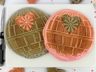 These Death Star Waffles Are Now the Ultimate Power at the Breakfast Table