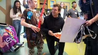Force for Change and Starlight Celebrate May the 4th with Alden Ehrenreich