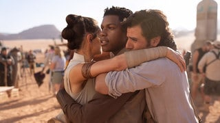 Cast and Creator Photos from the Star Wars: Episode IX Set