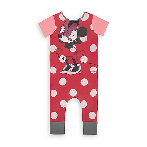 Minnie Mouse Polka Dot Romper for Baby and Toddler by Rags