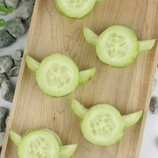 Fuel Your Force with These Yoda Cucumber Bites