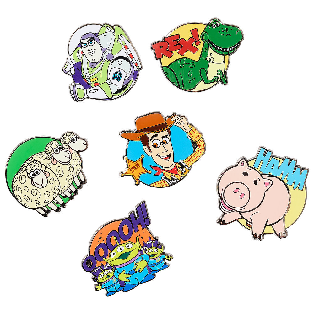 Toy Story Pin Set - Limited Release Official shopDisney