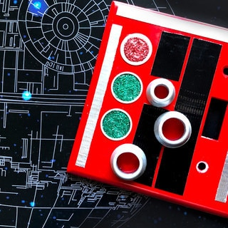 Bring Imperial Style Home With This DIY Death Star Panel Light Switch Plate