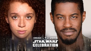 Solo's Erin Kellyman and Ahmed Best of the Prequel Trilogy Coming to Star Wars Celebration Chicago