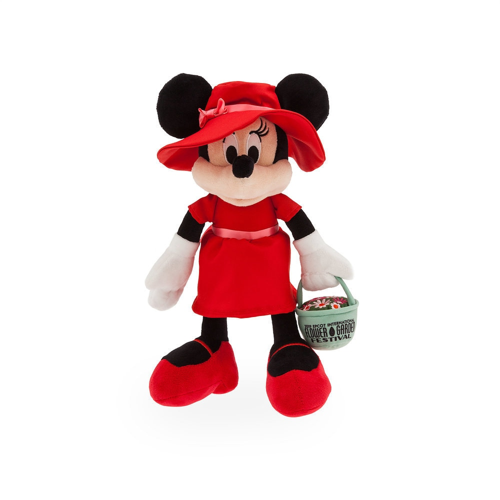 Minnie Mouse Plush - Epcot International Flower & Garden Festival 2019 - Small - 11'' Official shopDisney