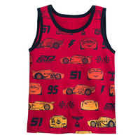 Image of Cars Tank Top for Boys # 1