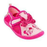 Image of Minnie Mouse Pink Swim Shoes for Kids # 1