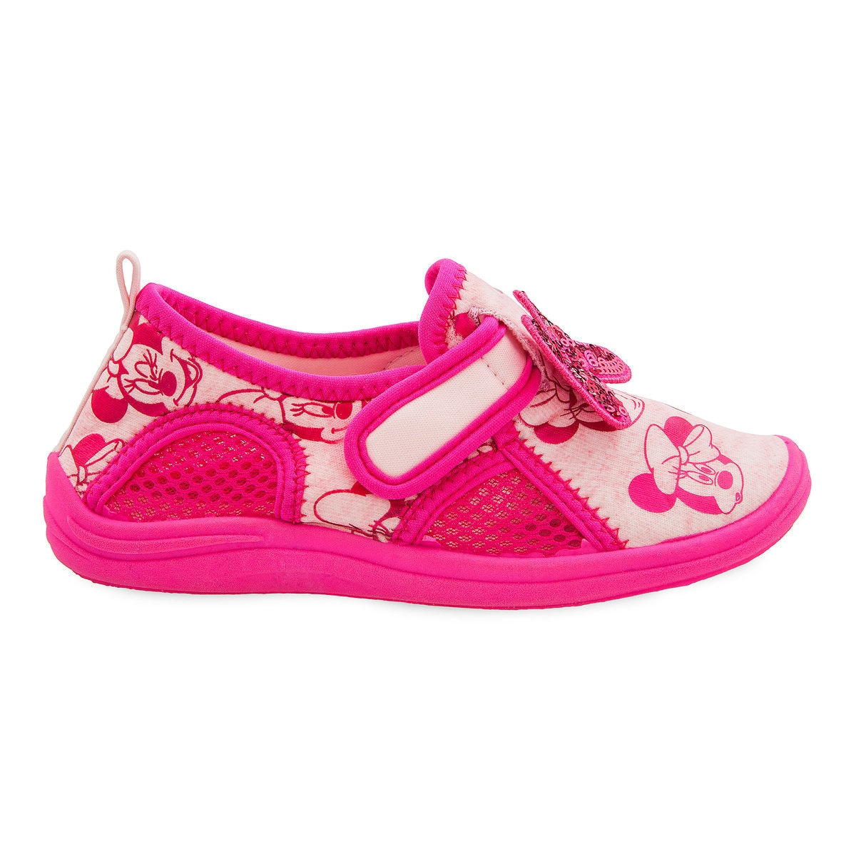 2e382ed4c671 Product Image of Minnie Mouse Pink Swim Shoes for Kids   2