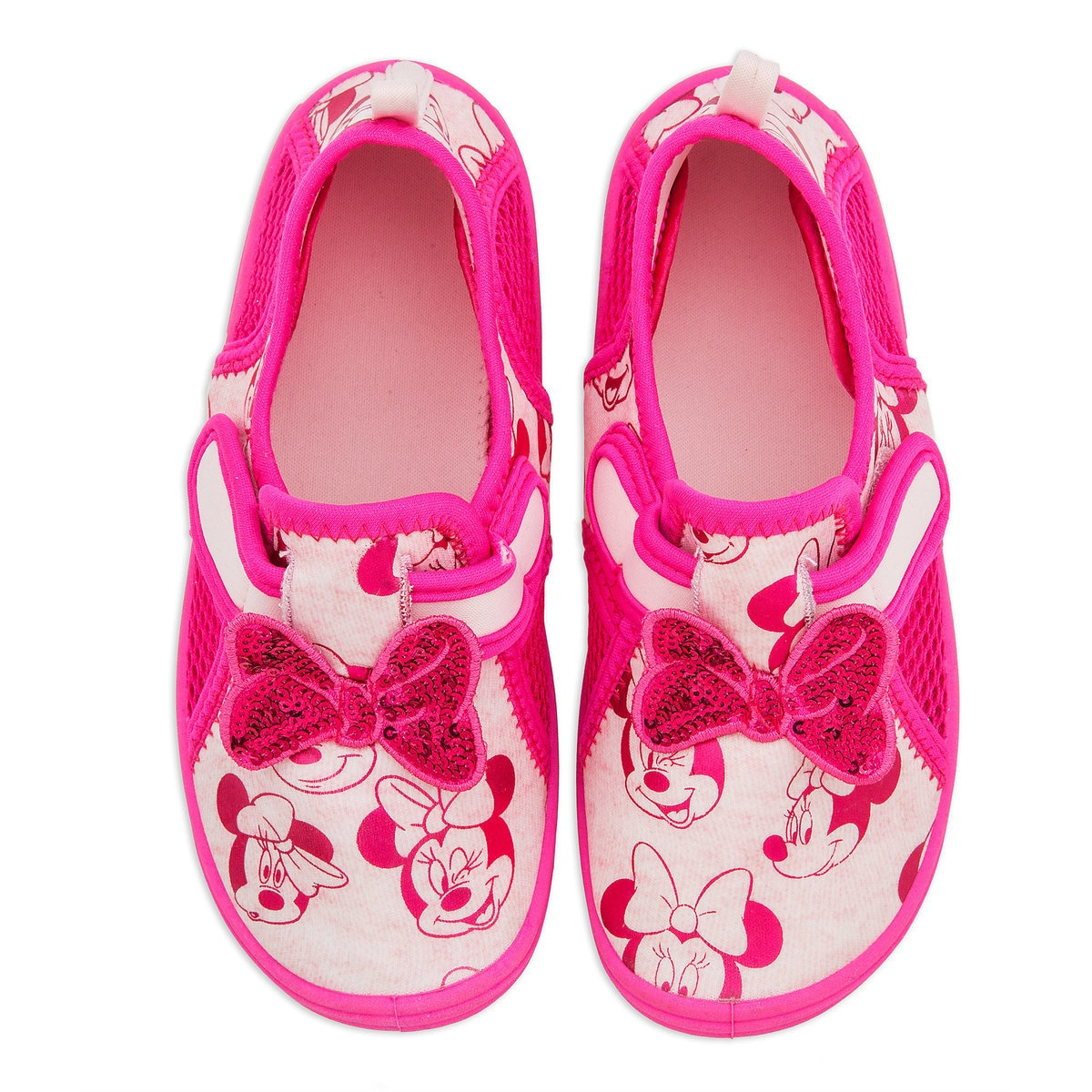 Product Image of Minnie Mouse Pink Swim Shoes for Kids # 3