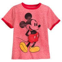 Image of Mickey Mouse Classic Ringer T-Shirt for Boys # 1