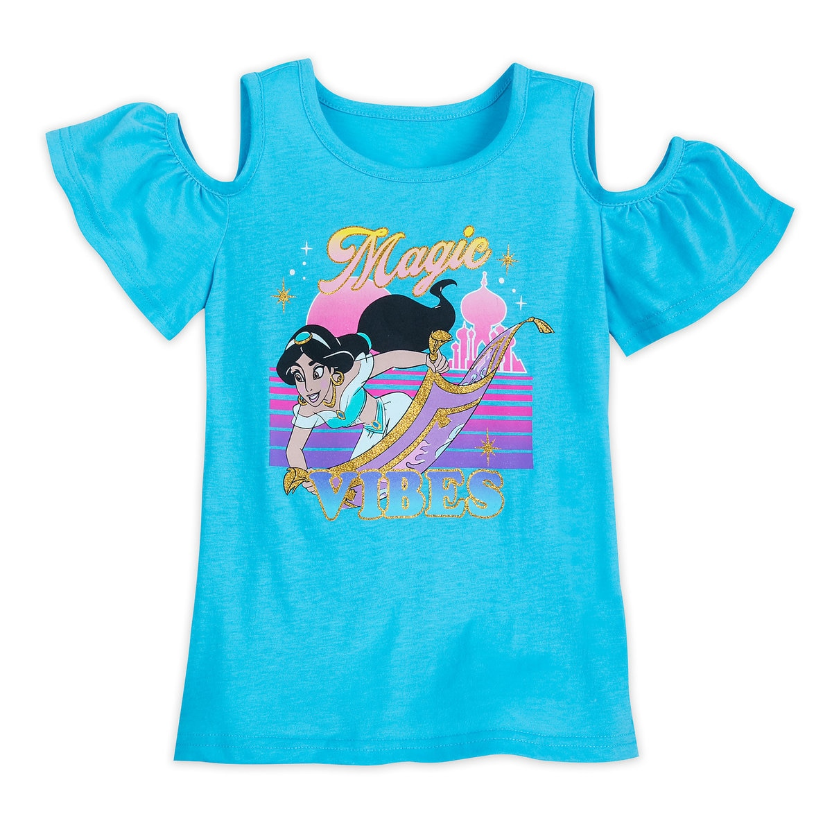 fe1e0ba17 Product Image of Jasmine Cold Shoulder T-Shirt for Girls - Aladdin # 1