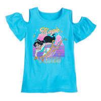 Image of Jasmine Cold Shoulder T-Shirt for Girls - Aladdin # 1