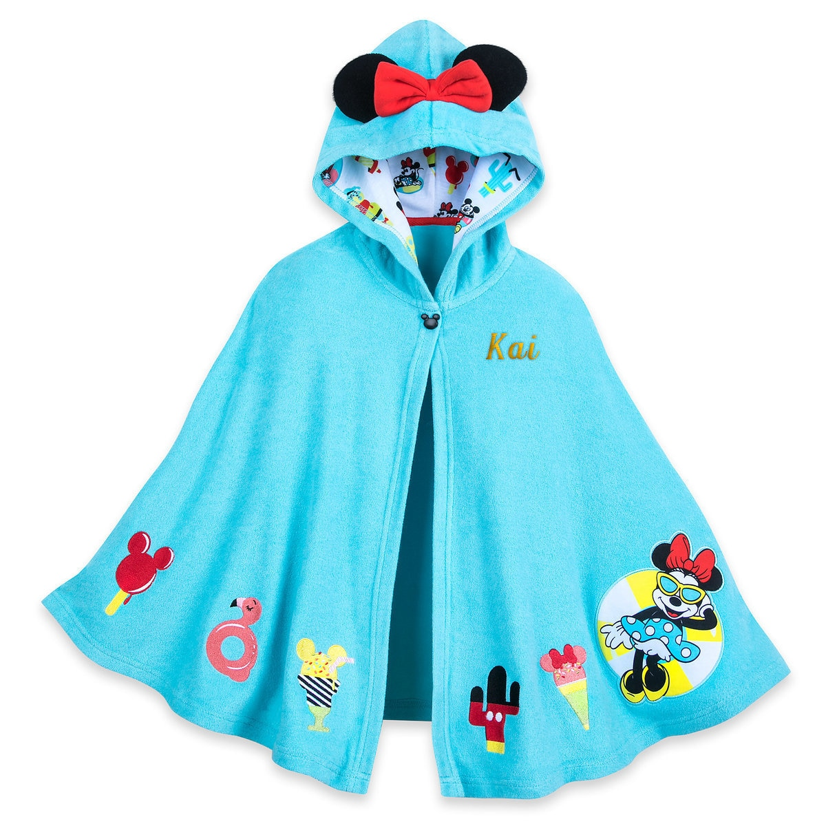 0b2f6228 Product Image of Minnie Mouse Summer Fun Swim Cover-Up for Girls -  Personalized #