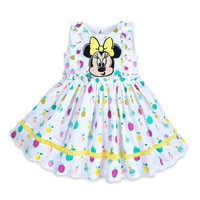 Image of Minnie Mouse Fruit Print Dress Set for Baby # 1