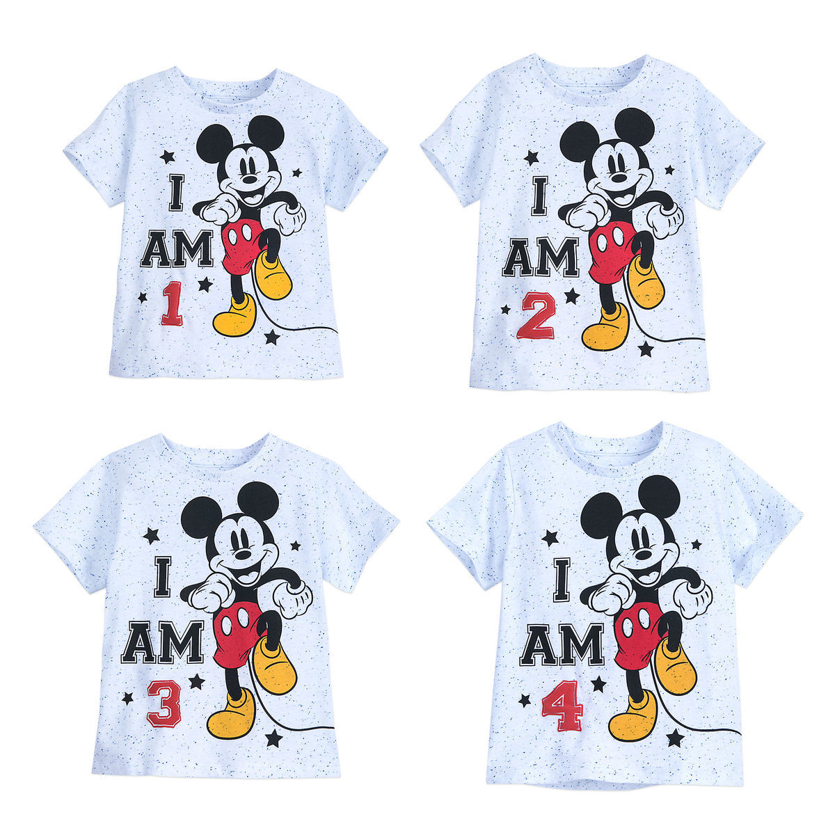 Product Image Of Mickey Mouse I Am Birthday Tee