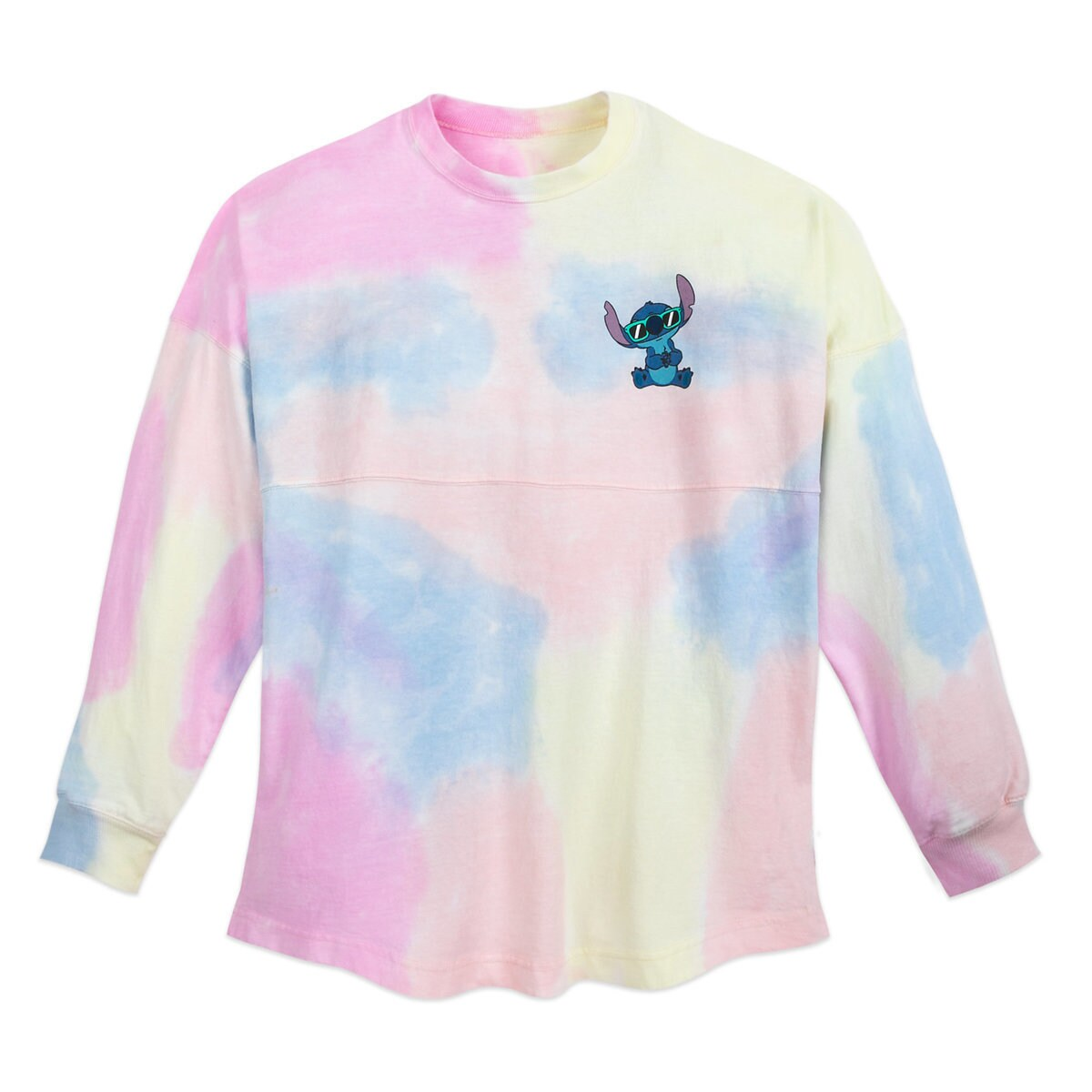 07df1e92025f Product Image of Stitch Tie-Dye Rainbow Spirit Jersey for Adults # 1