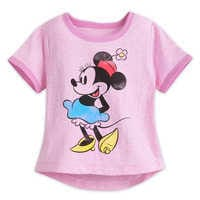 Image of Minnie Mouse Classic Ringer T-Shirt for Girls # 1