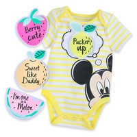 Image of Mickey Mouse Bodysuit and Patches Gift Set # 1