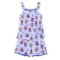 Image of Disney Princess Short Sleep Set for Girls # 1