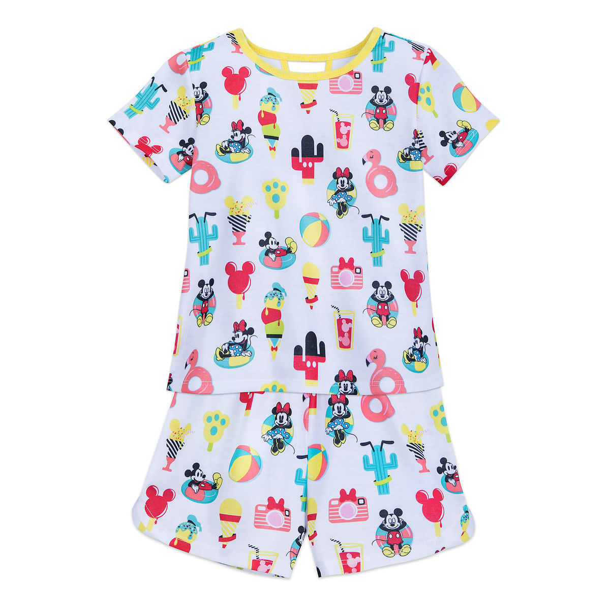 d3ddaa32f Mickey and Minnie Mouse Short Sleep Set for Girls