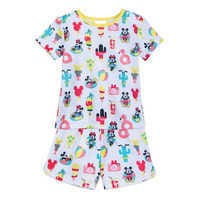 Image of Mickey and Minnie Mouse Short Sleep Set for Girls # 1