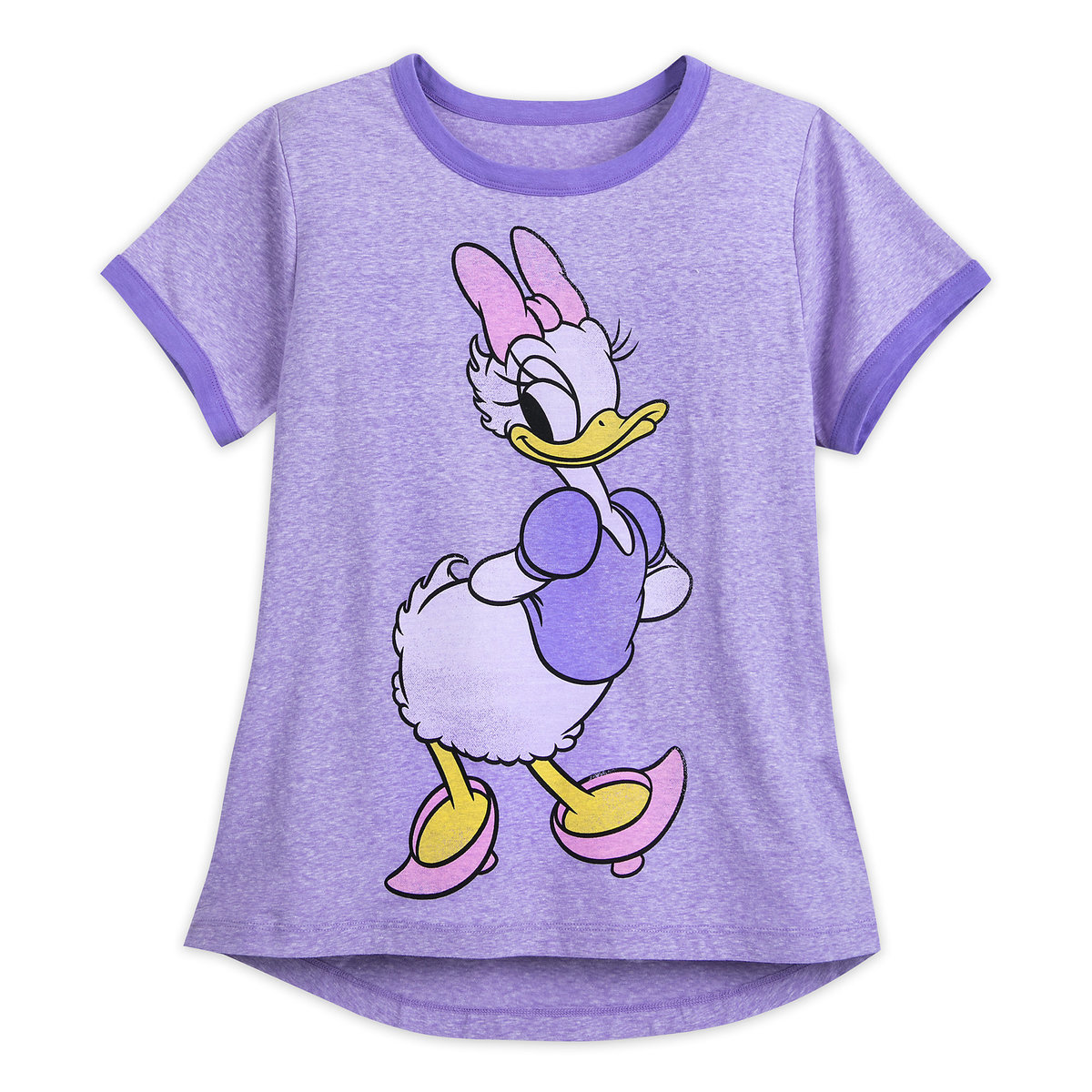 1194e78b Product Image of Daisy Duck Ringer T-Shirt for Women # 1