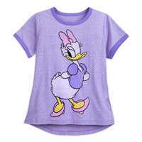 Image of Daisy Duck Ringer T-Shirt for Women # 1