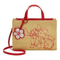 Image of Lilo & Stitch Straw Tote Bag by Danielle Nicole # 1